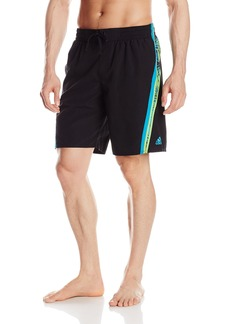 Adidas Men's Tropic Splice Volley Swim Trunk