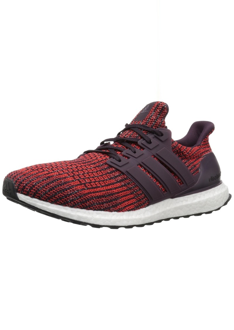 adidas Men's Ultraboost Road Running Shoe Noble Red/Noble Red/Core Black  M US