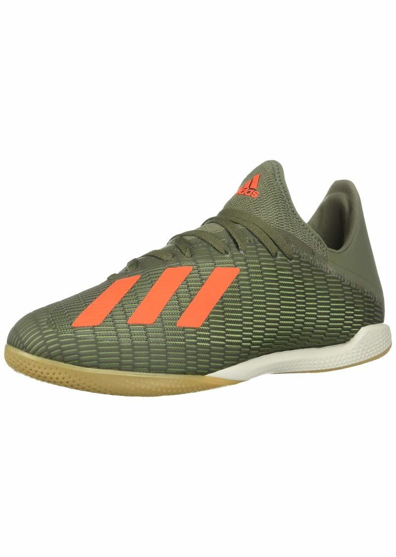 adidas Men's X 19.3 IN Football Shoe legacy green/solar orange/chalk White  Standard US Width US