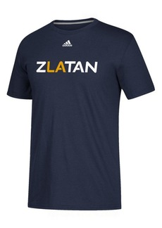adidas Men's Zlatan Ibrahimovic La Galaxy Player Name Logo T-Shirt