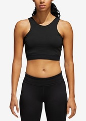 adidas Mesh-Back Cropped Tank Top