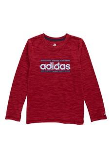 adidas Mesh Liner Climalite® T-Shirt (Toddler Boys & Little Boys)