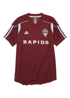 adidas MLS Colorado Rapids Primary Logo Graphic T-Shirt (Big Boys)