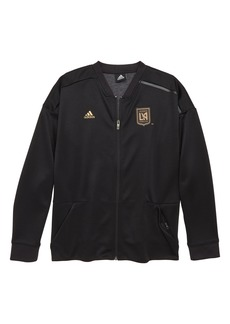 adidas MLS Los Angeles FC Anthem Full Zip Jacket (Big Boys)