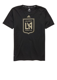 adidas MLS Los Angeles FC Climalite® T-Shirt (Big Boys)