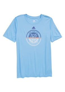 adidas MLS New York City FC Climalite® T-Shirt (Big Boys)