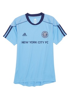 adidas MLS New York City FC Primary Logo Graphic T-Shirt (Big Boys)