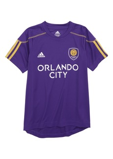 adidas MLS Orlando City SC Primary Logo Graphic T-Shirt (Big Boys)