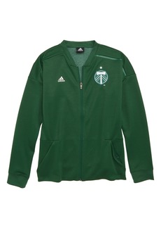 adidas MLS Portland Timbers Anthem Full Zip Jacket (Big Boys)