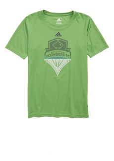 adidas MLS Seattle Sounders FC Climalite® T-Shirt (Big Boys)