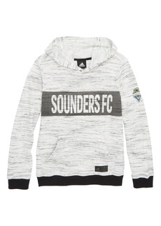 adidas MLS Seattle Sounders FC Hoodie (Big Boys)