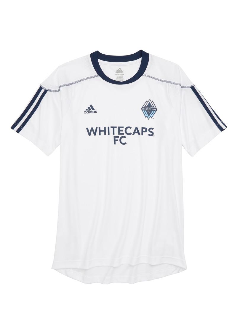 newest bb204 873f4 Adidas adidas MLS Vancouver Whitecaps FC Primary Logo Graphic T-Shirt (Big  Boys) | Tshirts