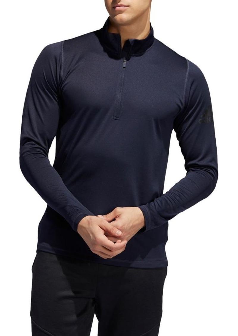 Adidas Mockneck Half-Zip Top