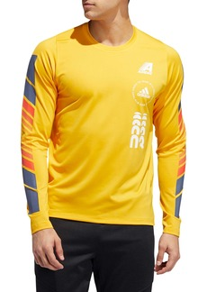 adidas Moto Pack FreeLift Long Sleeve T-Shirt (Regular Retail Price: $50)
