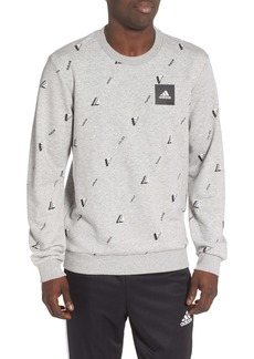 adidas Must Haves Graphic Crewneck Sweatshirt