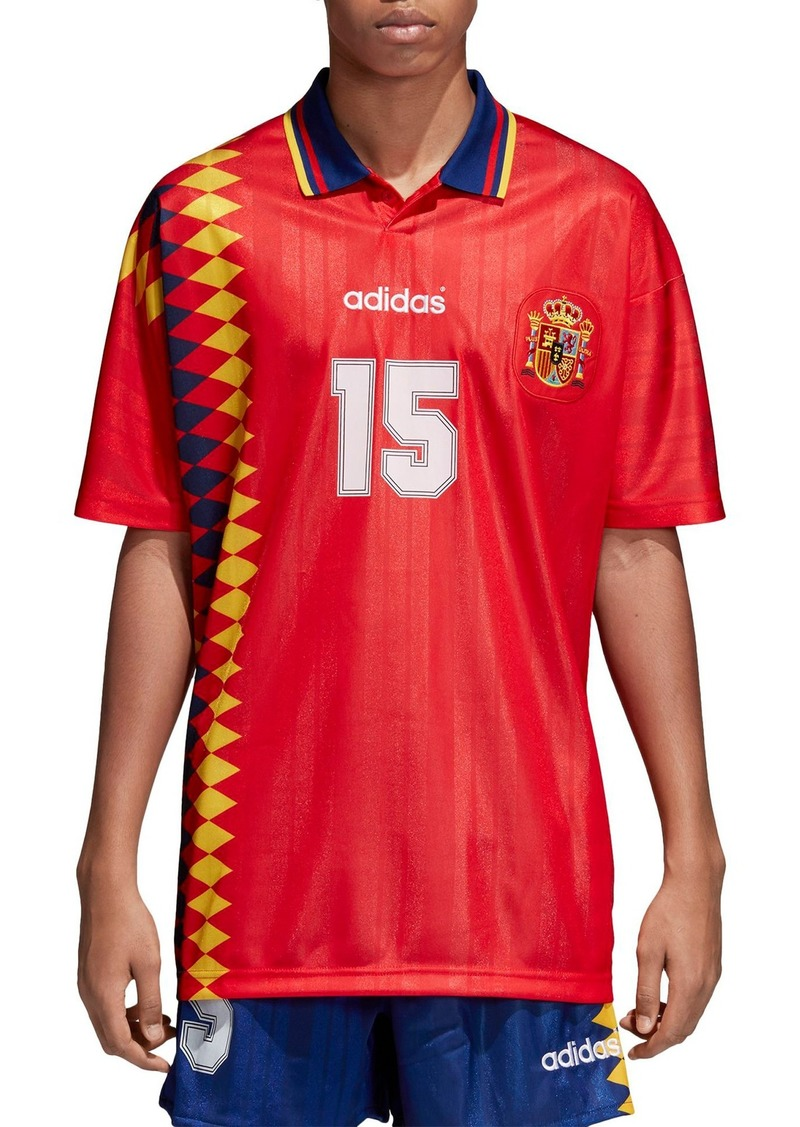Adidas Adidas Original Spain 1994 Soccer Jersey Now 44 98