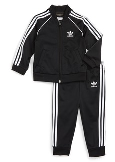 adidas Originals Track Jacket & Athletic Pants Set (Baby)