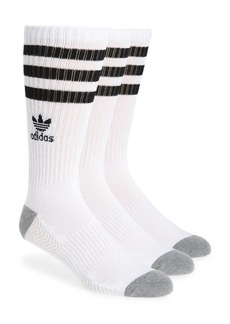 adidas Originals 3-Pack Original Roller Crew Socks