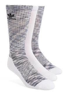 adidas Originals 3-Pack Space Dye Crew Socks