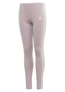 adidas Originals 3-Stripe Leggings (Big Girls)