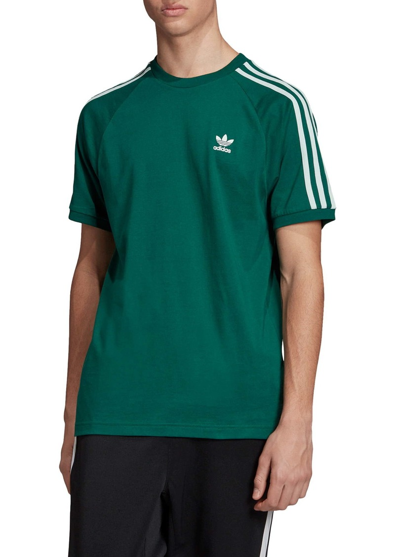 adidas Originals 3-Stripe Raglan T-Shirt