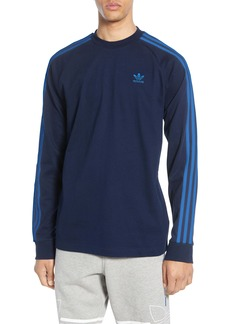 adidas Originals 3-Stripes Long Sleeve T-Shirt (Regular Retail Price: $40)