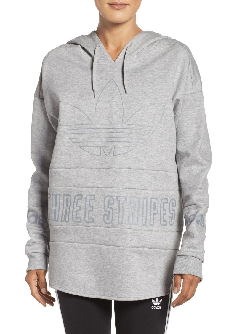 adidas adidas originals 3 stripes pullover hoodie casual. Black Bedroom Furniture Sets. Home Design Ideas