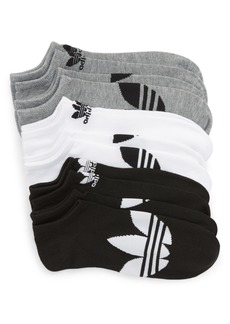 adidas Originals 6-Pack No-Show Socks