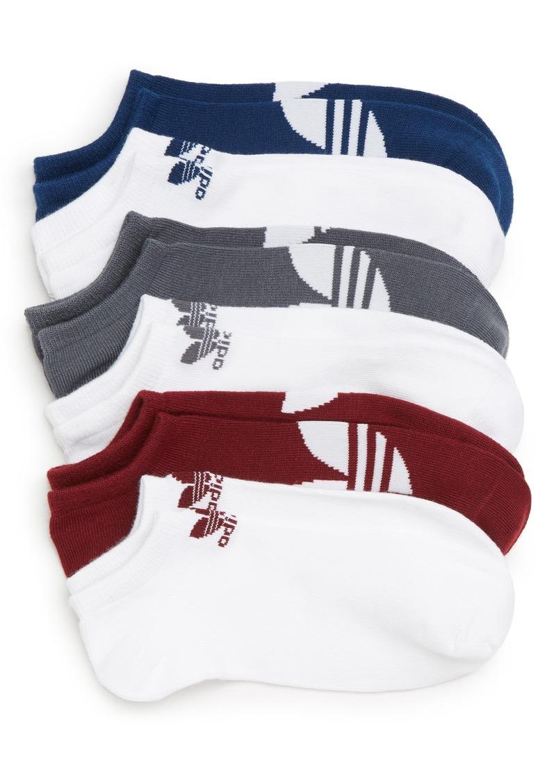 3c99a4a62 Adidas adidas Originals 6-Pack Trefoil No-Show Socks