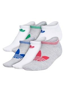 adidas Originals 6-Pack Trefoil Superlite No-Show Socks