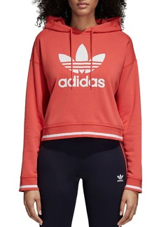 adidas Originals Active Icons Cropped Hooded Sweatshirt