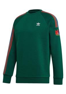 adidas Originals Adicolor 3D Trefoil Logo Crewneck Sweatshirt