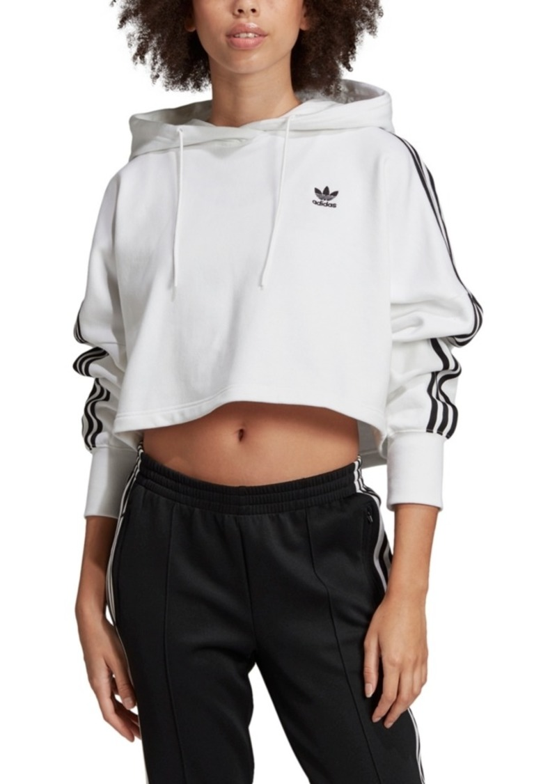 adidas Originals Women's Adicolor Cotton Cropped Hoodie