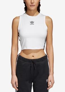 adidas Originals adicolor Cotton Cropped Tank Top