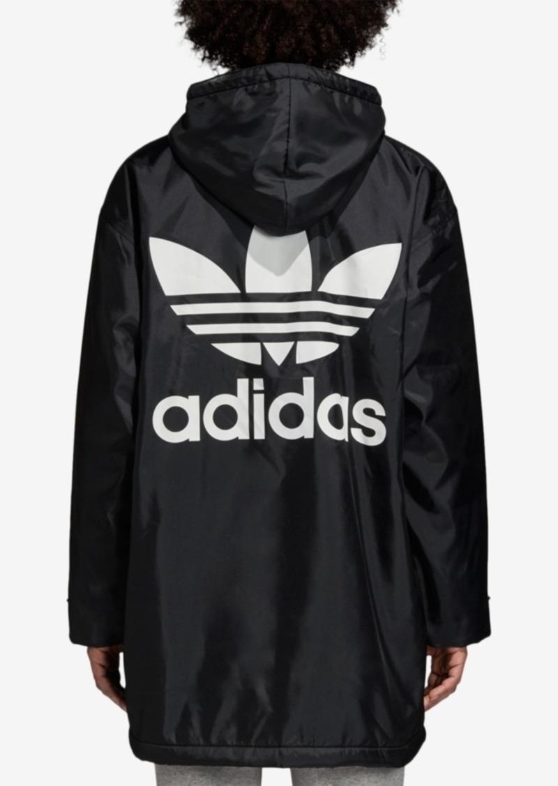 adidas Originals Adicolor Fleece-Lined Logo Jacket
