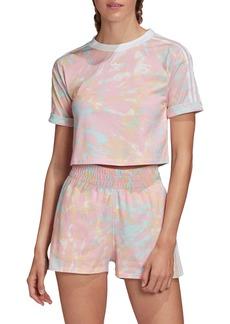 adidas Originals Adicolor Tie Dye Crop Top