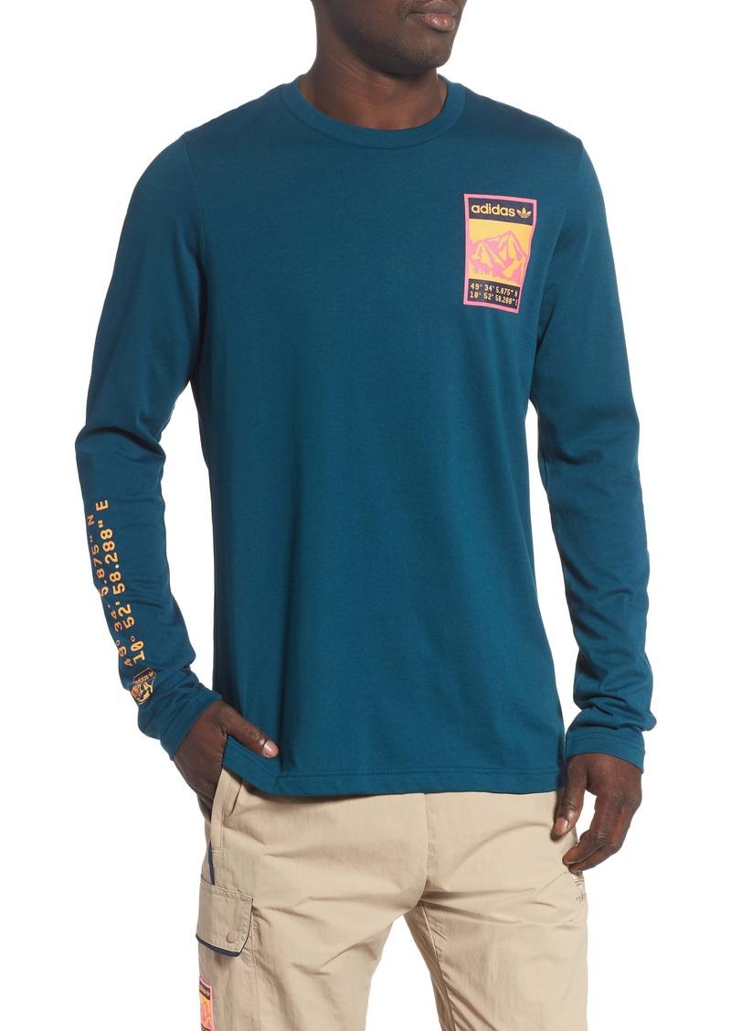 adidas Originals Adiplore Pack Long Sleeve T-Shirt