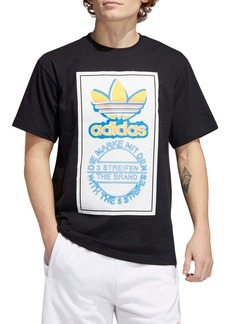 adidas Originals Airbrush Trefoil Graphic Tee