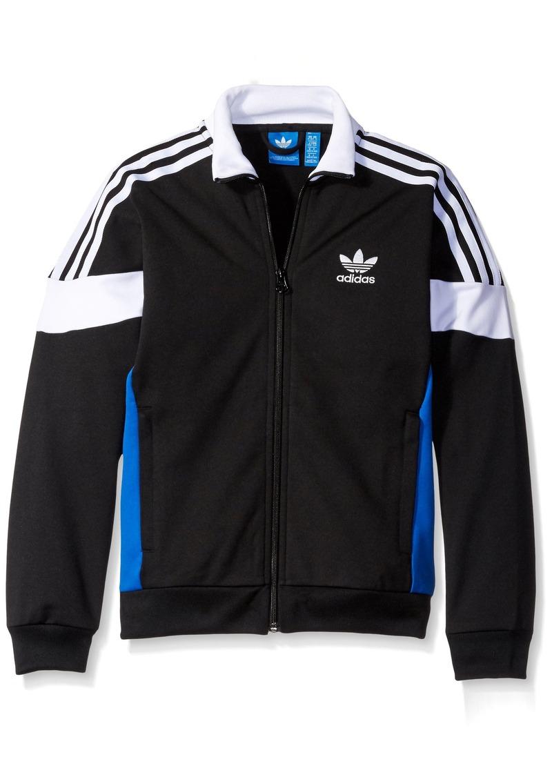 adidas Originals Outerwear Big Boys' Challenger Track Jacket