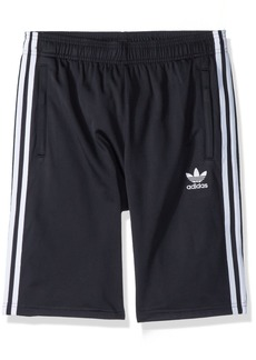 adidas Originals Boys' Big 3 Stripes Shorts  M