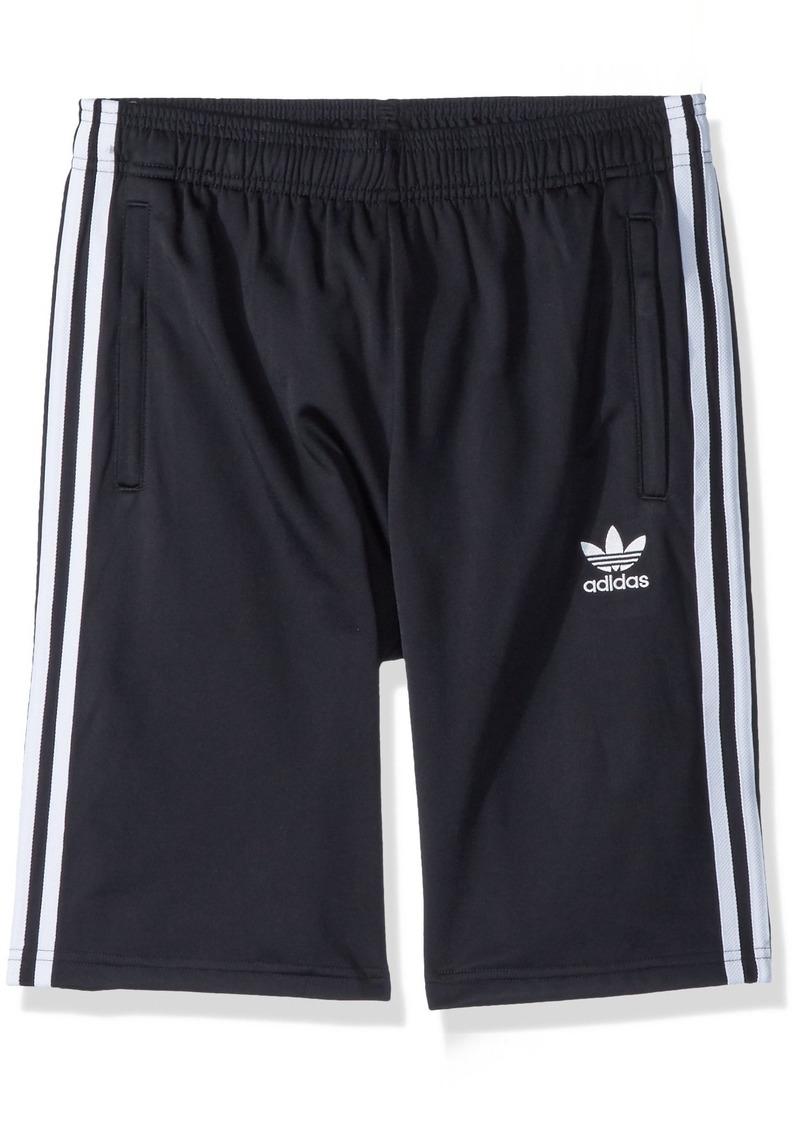 adidas Originals Boys' Big 3 Stripes Shorts  M