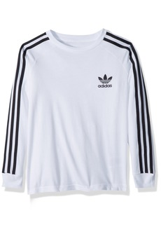 adidas Originals Big Boys' Originals California Long Sleeve Tee  XL