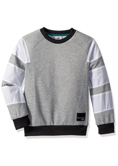 adidas Originals Big Boys' Originals EQT Crew Sweatshirt  XL