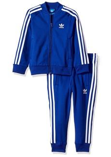 adidas Originals Outerwear Big Kids Superstar Track Suit
