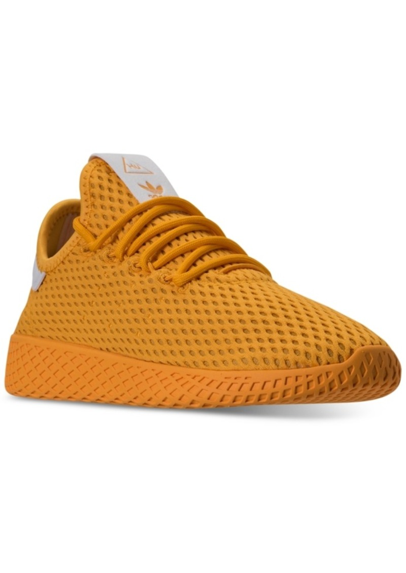 0e26dab717c9d adidas Originals Big Boys' Pharrell Williams Tennis Hu Casual Sneakers from  Finish Line