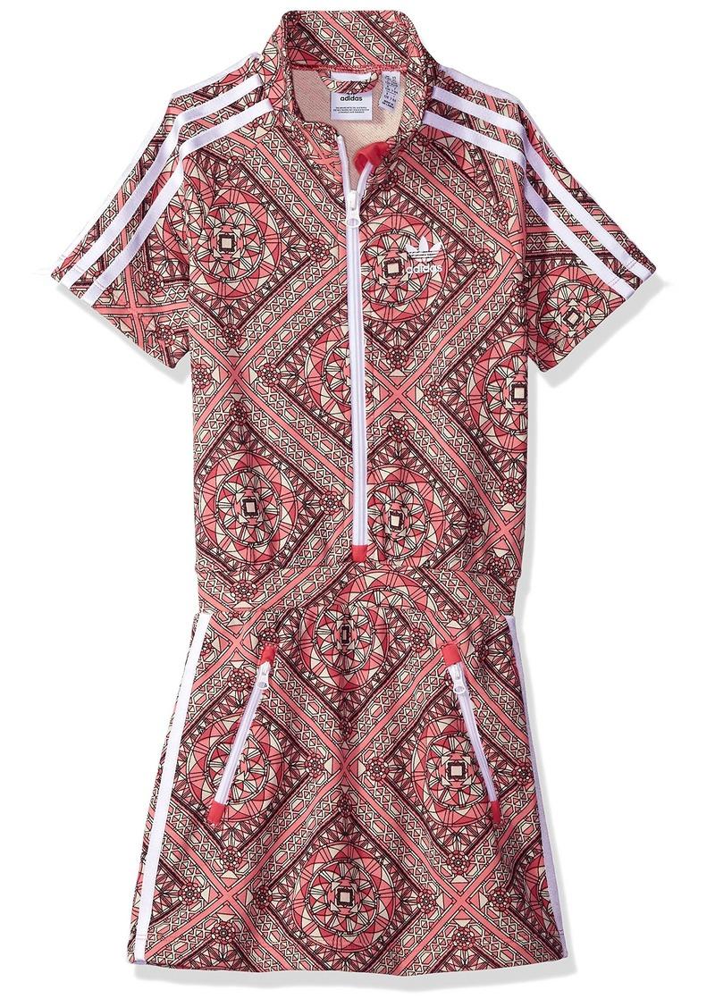 adidas Originals Girls' Big Graphic Dress  S