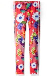 adidas Originals Big Girls' Originals Graphic Floral Print Leggings  XL