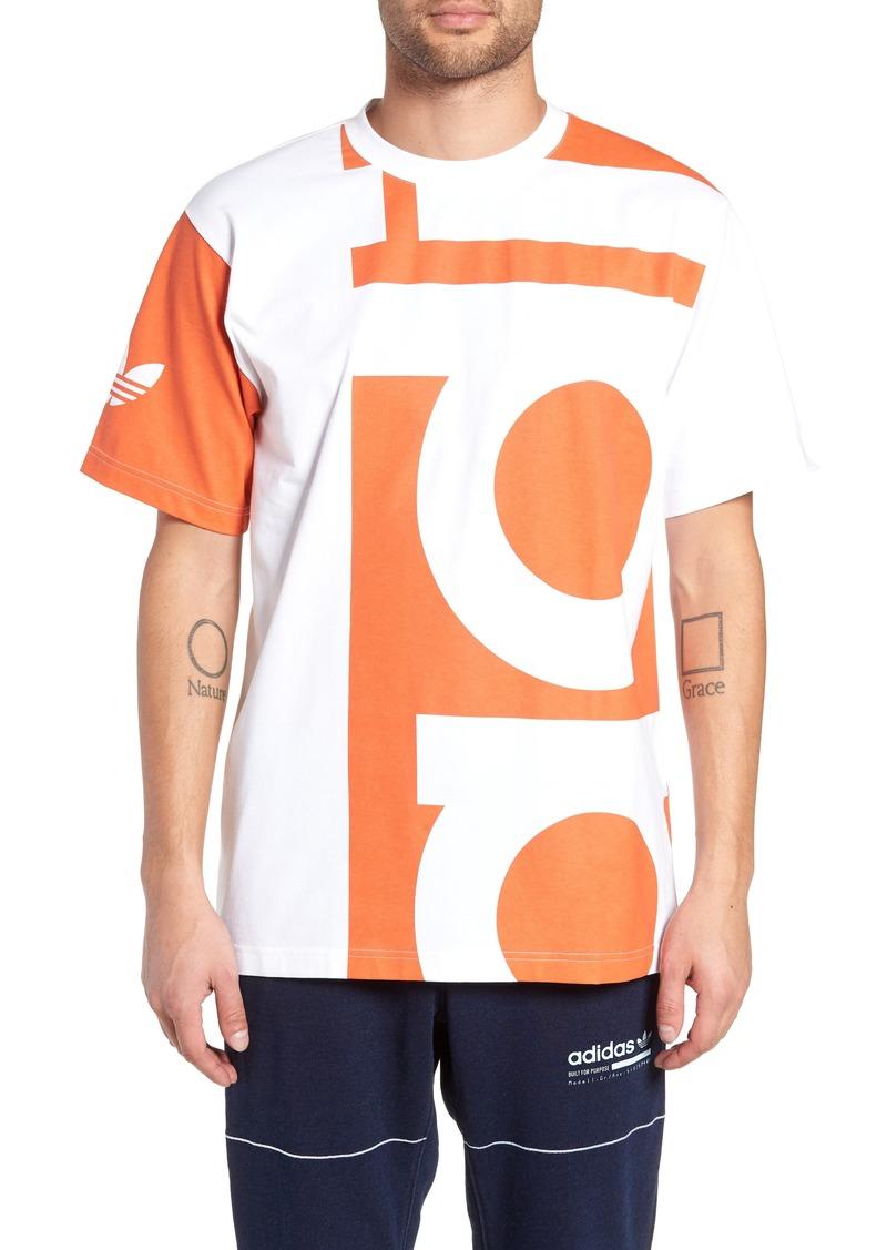 adidas Originals Big Logo Graphic T-Shirt