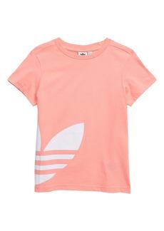 adidas Originals Big Trefoil Logo Tee (Big Girls)