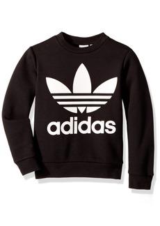 adidas Originals Boys' Big Fleece Crew